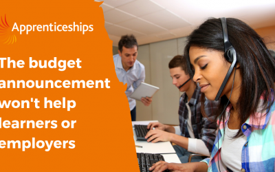 'Amazing' SME budget announcement is bad news for apprentices