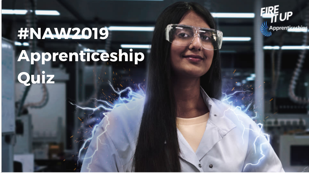 1,000s of teenagers take SupplyTrain inspired apprenticeship quiz during National Apprenticeship Week 2019